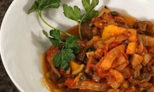 Roast Eggplant Caponata