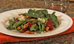 Roast Beet Salad with Caramelized Walnuts