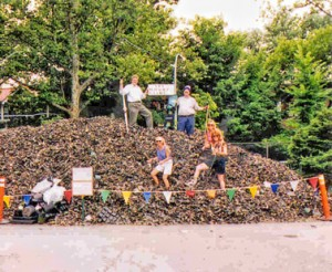 Missouri Botanical Garden Pot Recycling