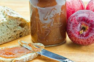 Apple Butter straight from the jar