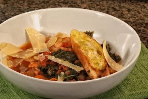 Ribollina soup, a hearty traditional Tuscan bread soup