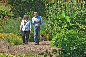 Joe and Maria discuss the benefits of organic gardening