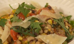 Corn and Black Eyed Peas Succotash