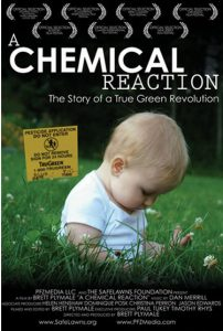 A Chemical Reaction, cover for the  movie