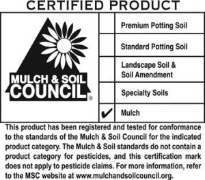 Mulch & Soil Council Certification Label