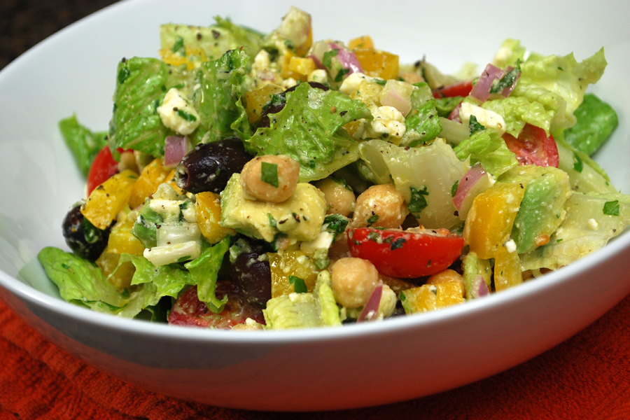 Greek Salad | Living Simply By Going Backwards