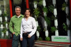 With Britta Riley of WindowFarms.org
