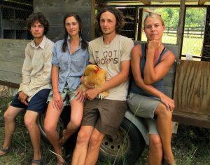 The young farmers of Jenny Jack Sun Farm.