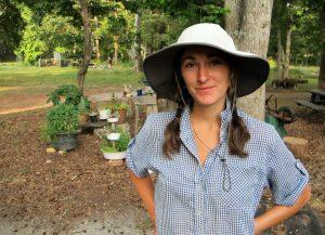Jenny Jackson of Jenny Jack Sun Farm (get it?)