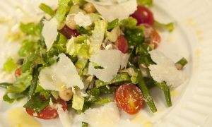Green Bean Salad with Vegetables, Tuna, and Dijon Vinaigrette