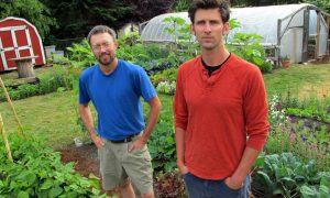 Colin McCrate and Brad Halm of Seattle Urban Farm Company