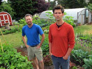 Colin McCrate and Brad Halm of Seattle Urban Farm Company
