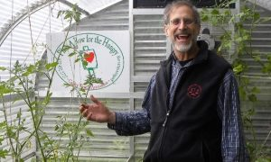 Jeff Lowenfels, founder of Plant a Row for the Hungry