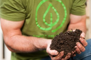 Joe Lamp'l shows how to make rich, black compost at home
