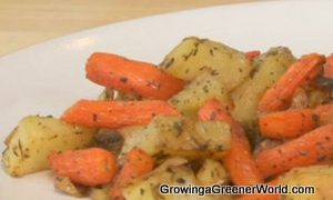 Chef Nathan Lyon's Herb Roasted Root Vegetables