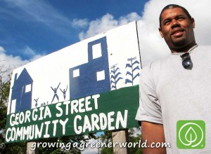 Mark Covington of Georgia Street Community Garden in Detroit