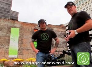 David and Carl at Lafayette Greens, Detroit