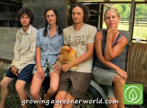 The young farmers of Jenny Jack Sun Farm.
