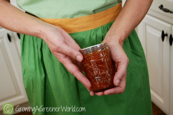 Apricot jam without pectin video growing a greener world for Peach preserves no pectin