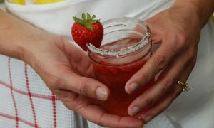 Strawberry Jam Cocktail – VIDEO