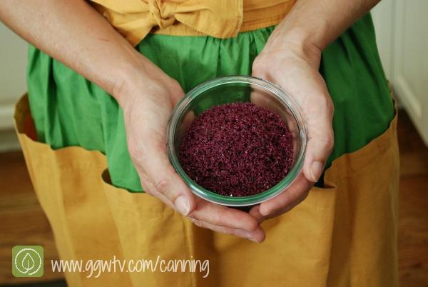 How to make wine salt