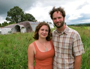Chad and Courtney DeVoe live in a home completely off the grid.