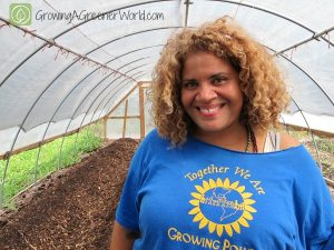 Erica Allen of Growing Power