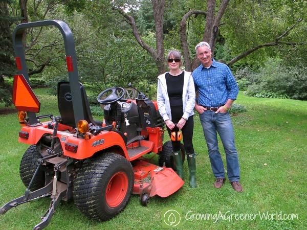 Margaret Roach and Joe Lamp'l