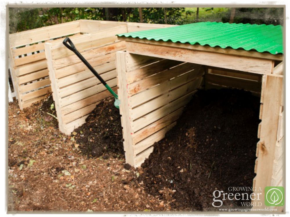 Building a pallet compost bin growing a greener world for How to build a pallet building