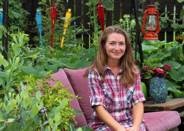 Brie Arthur-Designing a landscape-GrowingAGreenerWorld.com