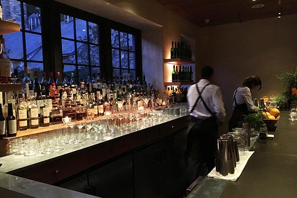 Blue Hill at Stone Barns bar