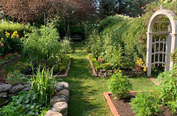 A beautiful garden